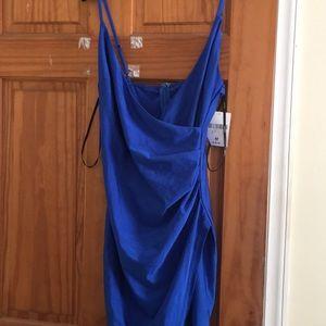 Forever 21 royal blue dress